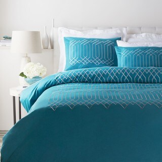 Abi Cotton Sateen Duvet Set