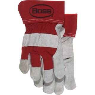 Boss Gloves 4095R Large Split Leather Palm Gloves