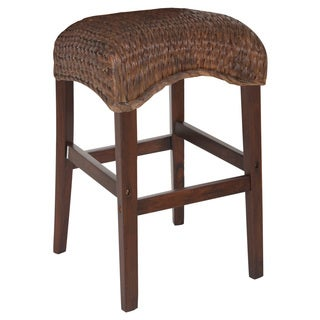 Coaster Company Brown Mahogany 24-inch Stool