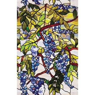 "Artscape 01-0106 24"" X 36"" Wisteria Design Window Film"