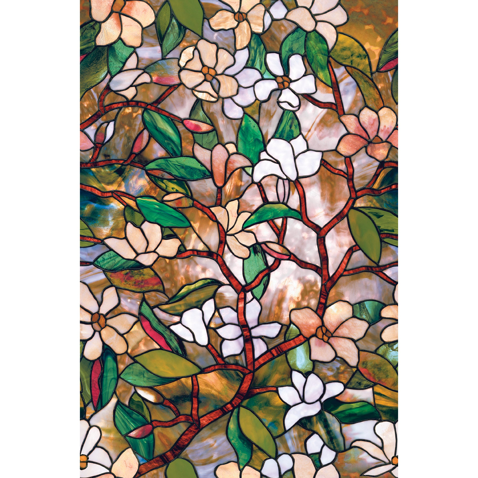 Artscape Magnolia Design 24-inch x 36-inch Window Film (W...