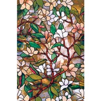 Artscape Magnolia Design 24-inch x 36-inch Window Film
