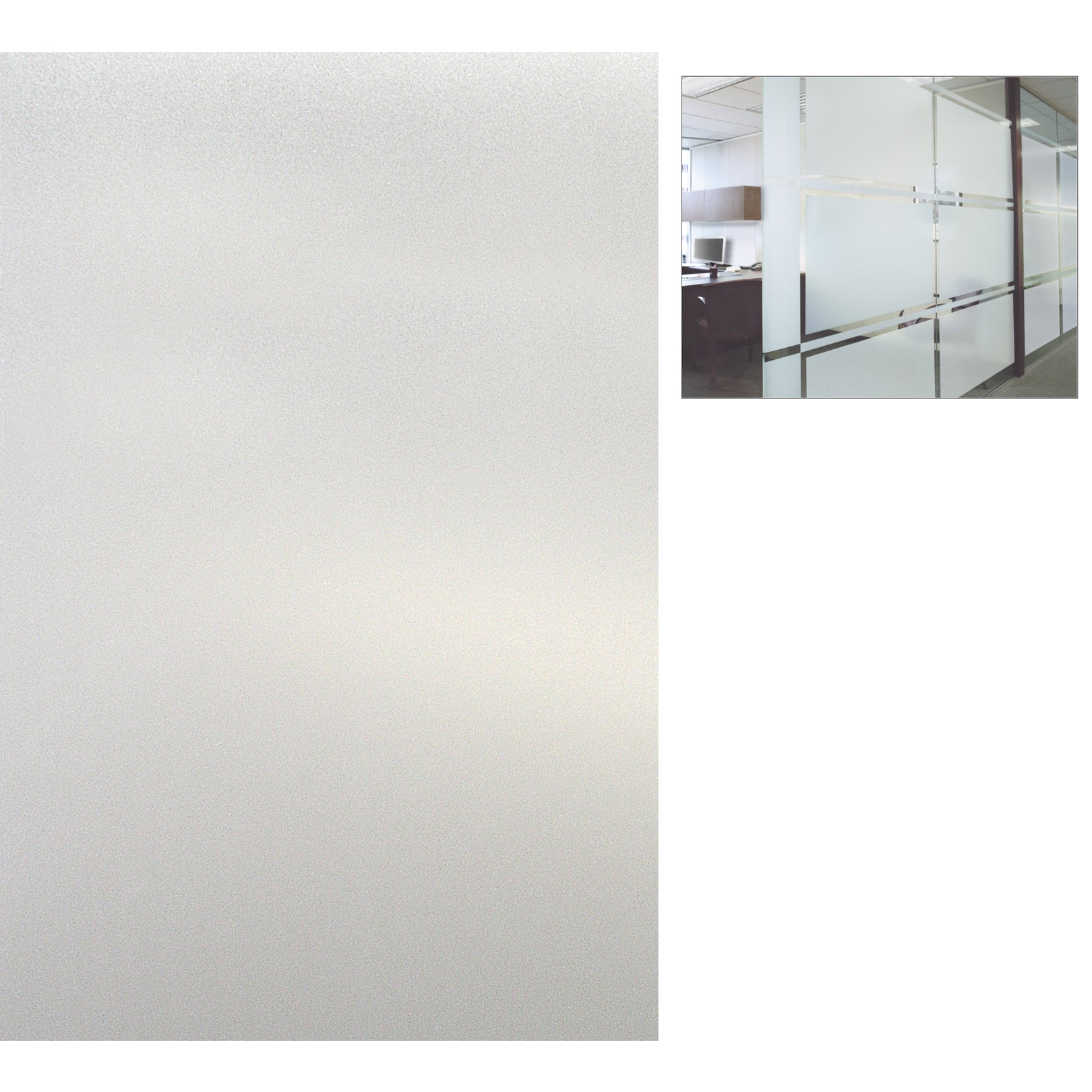 "Artscape 01-0124 12"" X 83"" Etched Glass Design Sidelights..."