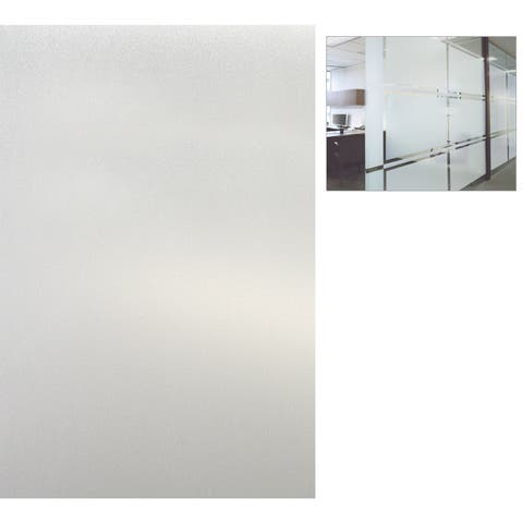 "Artscape 01-0124 12"" X 83"" Etched Glass Design Sidelights Window Film"