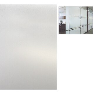 "Artscape 01-0124 12"" X 83"" Etched Glass Design Sidelights Window Film"