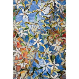 "Artscape 02-3007 24"" X 36"" Clematis Design Window Film"