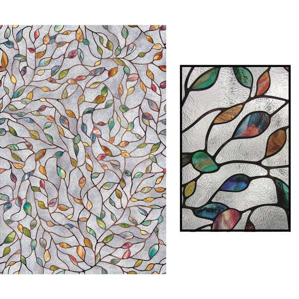 Artscape 02 3021 24 X 36 New Leaf Decorative Window Film