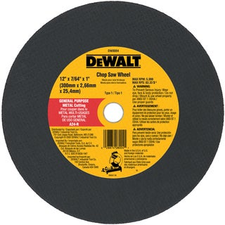 "DeWalt DW8004 12"" Metal Cutting Blade"