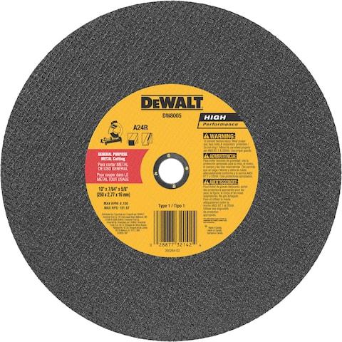"""DeWalt DW8005 10"""" Metal Cutting Blade"""