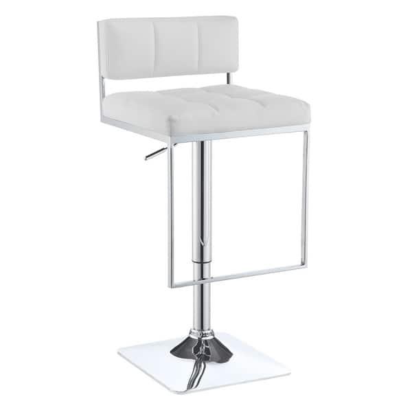 Fine Shop Silver Orchid Price Silver Metal Foam Adjustable Bar Inzonedesignstudio Interior Chair Design Inzonedesignstudiocom