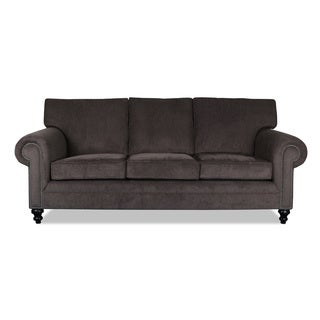 Oxford Charcoal Chenille Sofa