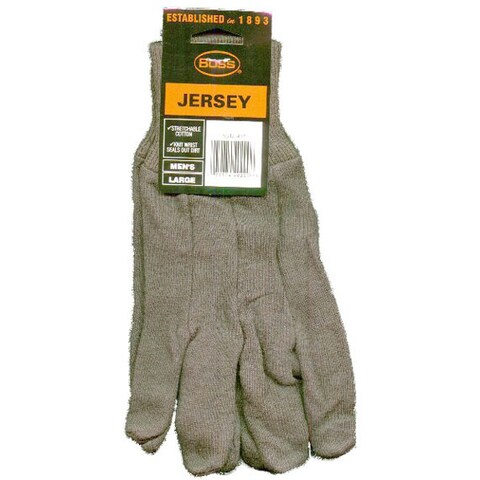 Boss Gloves 4023 Brown Jersey Gloves 3-Pack