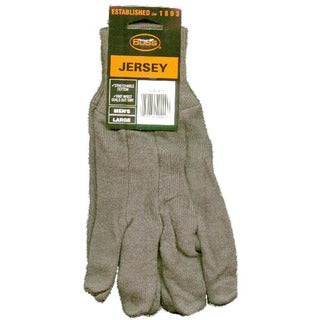 Boss Gloves 4023 Brown Jersey Gloves 3-Pack