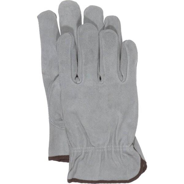 Boss Gloves 4065L Large Grey Unlined Split Leather Gloves
