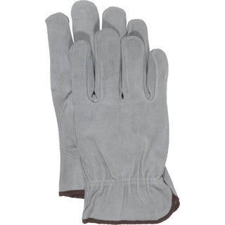 Boss Gloves 4065L Large Grey Unlined Split Leather Gloves