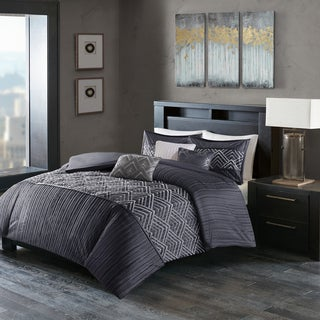 Madison Park Julien Blue Duvet Cover Set