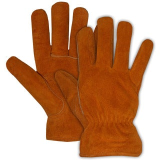 Boss Gloves 4176J Jumbo Pile Lined Split Leather Gloves