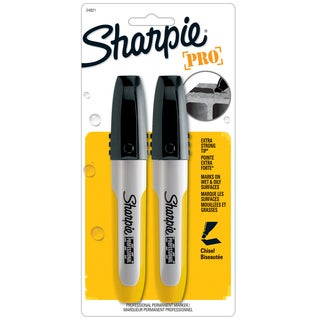 Sharpie 34821PP Black Sharpie Marker 2 Count