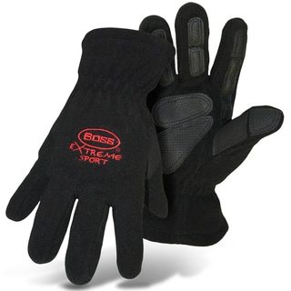 Boss Gloves 4420BL Large Black Boss Extreme Fleece Gloves