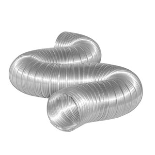 "Dundas Jafine MFX78X 7"" x 8' Flexible Aluminum Ducting"