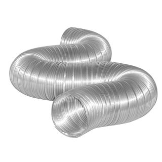 "Dundas Jafine MFX48X 4"" x 8' Semi Rigid Flexible Aluminum Ducting"