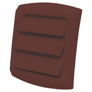 """Dundas Jafine LC4BX 4"""" Brown ProVent Louvered Exhaust Cap"""