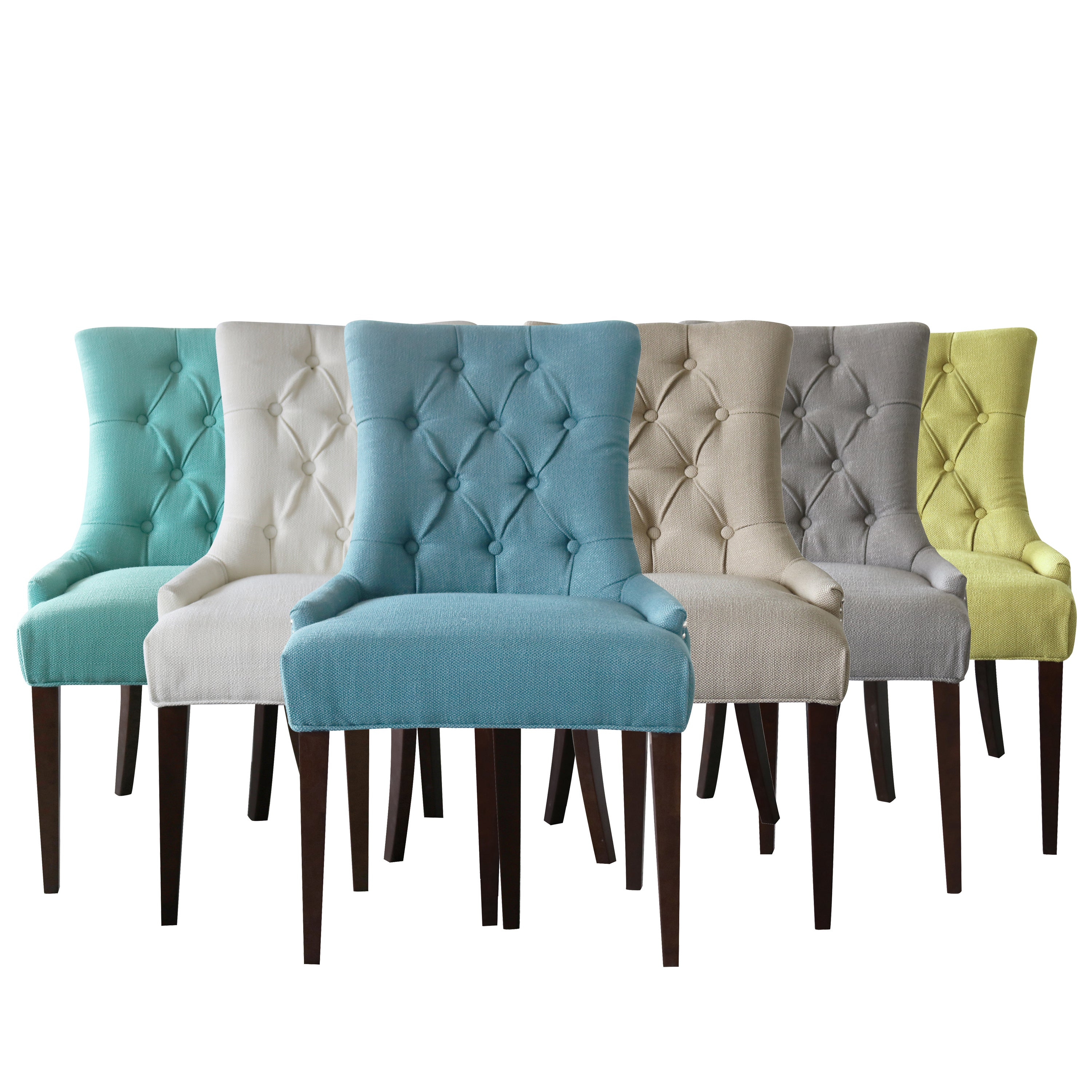 Overstock Dining Chairs: Shop Gracewood Hollow Bronte Tufted-back Chair