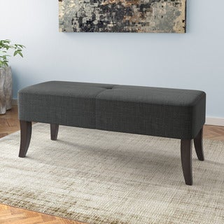 CorLiving Antonio 46-inch Upholstered Bench