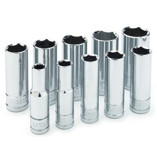 "Wilmar W38402 3/8"" Drive Deep Socket Set"