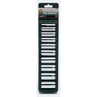 "Wilmar W38300 3/8"" Drive Deep Socket Set"