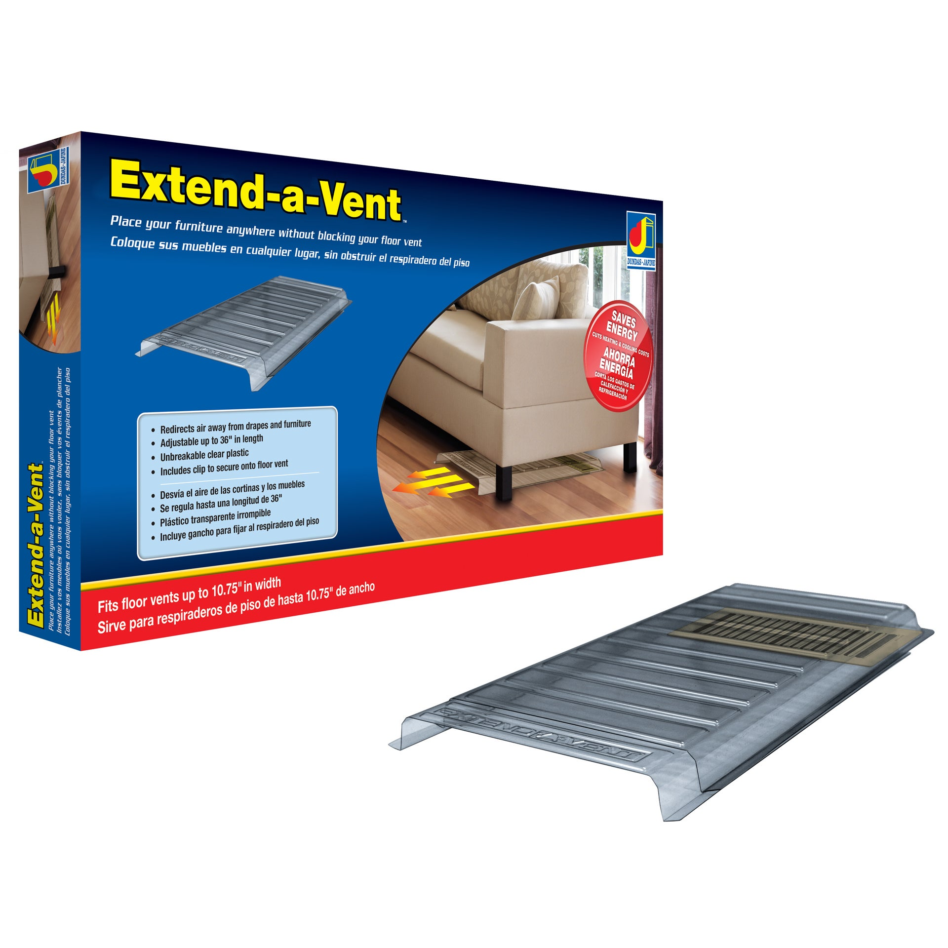 Extend A Vent Air Deflector