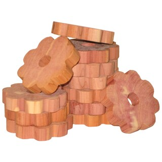 Cedar Fresh 14371 6 Pack Cedar & Lavender Flower Hanger Rings
