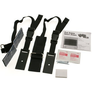 Quake Hold 4520 Universal Flat Screen Safety Straps