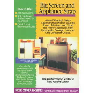 Quake Hold 4508 Big Screen & Appliance Strap
