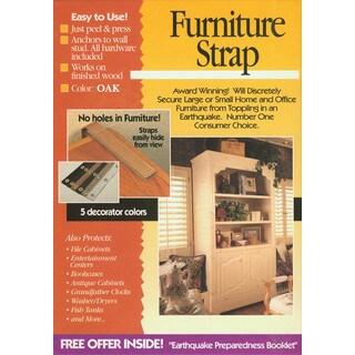 Quake Hold 4161 Oak Colored Original Double Furniture Strap