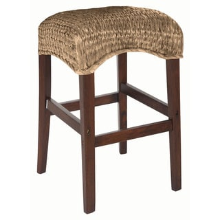 Coaster Company Brown Mahogany Bar Stool