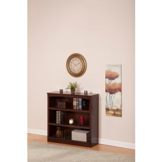 Atlantic Harvard 36-inch Walnut Book Shelf