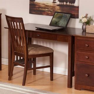 Walnut Mission Desk with Drawer
