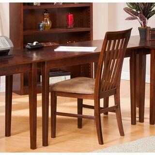 Atlantic Furniture Shaker Walnut Wood Writing Desk