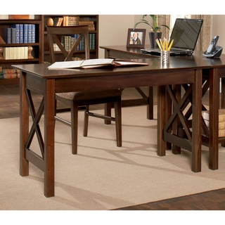 Copper Grove Gaff Walnut Wood Work Desk