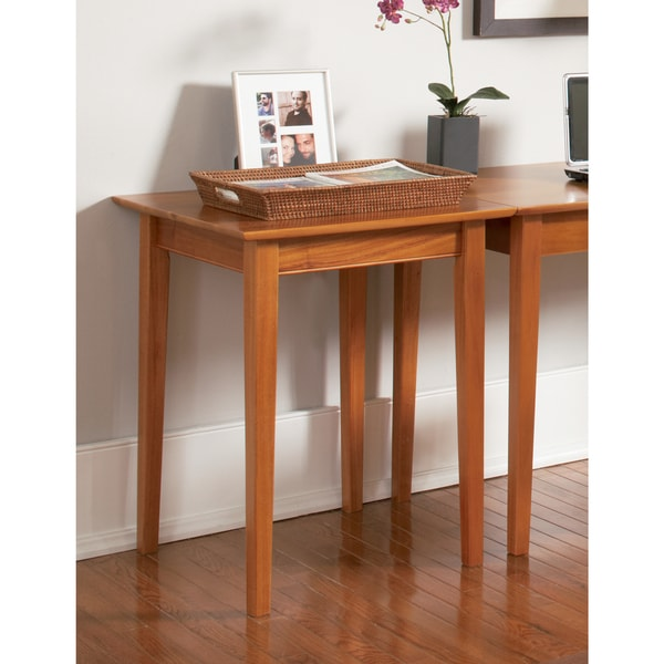 Atlantic Furniture Shaker Caramel Latte Wood Printer Stand
