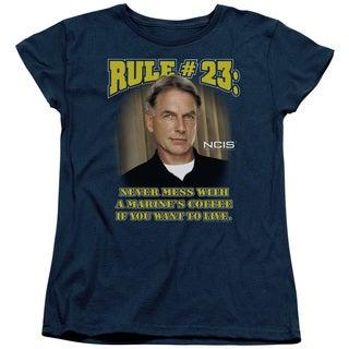 Ncis/Rule 23 Short Sleeve Women's Tee in Navy