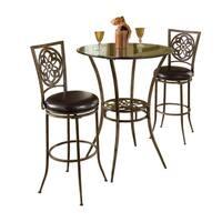 Hillsdale Furniture Marsala 3-Piece Bistro Set