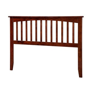 Mission Headboard Full Walnut