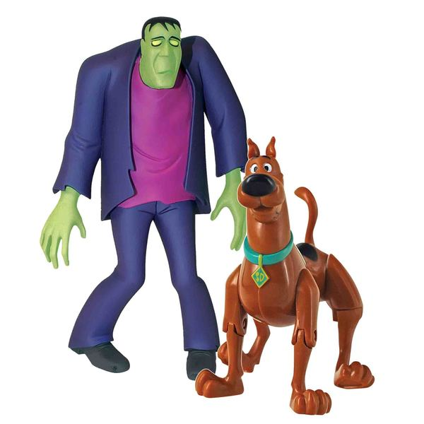 Scooby Doo Twin Pack 5 inch Action Figures Scooby and Frankenstein's Monster