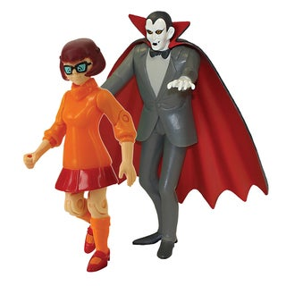 Scooby Doo Twin Pack 5 inch Action Figures Velma and Dracula