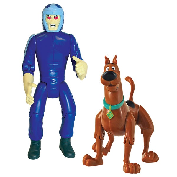 Scooby Doo Twin Pack 5 inch Action Figures Scooby and Phantom Racer