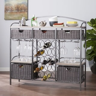 Harper Blvd Johnson Wine Storage Console