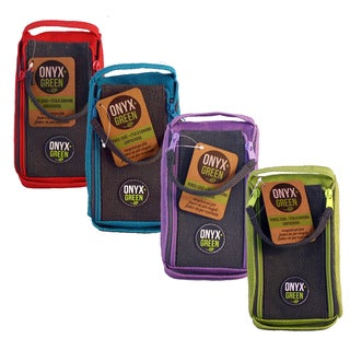 Onyx And Blue Corporation 7200 Jute Pencil Pouch Assorted Colors
