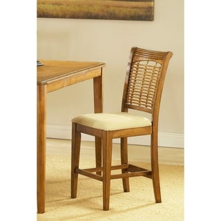 Hillsdale Furniture Bayberry Oak Finish Non-Swivel Counter-height Stool